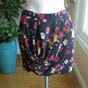 Anthropology Dolan silk skirt size Small